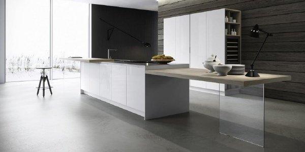 Copat life cucina moderna mod 2 1 bianco puro cuneo manassero mobili - Copat life cucine ...