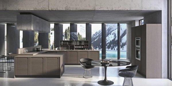 Copat life cucina moderna mod 3 1 rovere fango cuneo manassero mobili - Cucine di lusso marche ...
